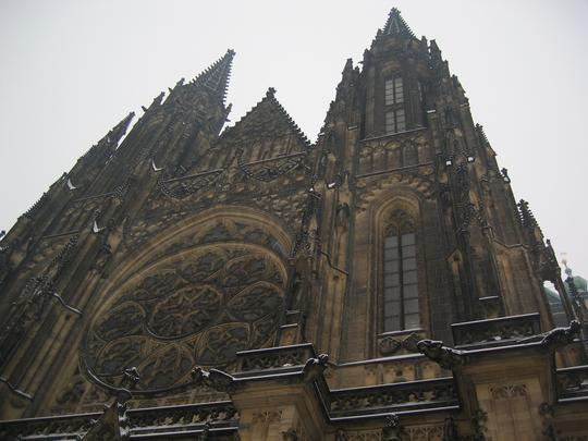 Within Prague Castle