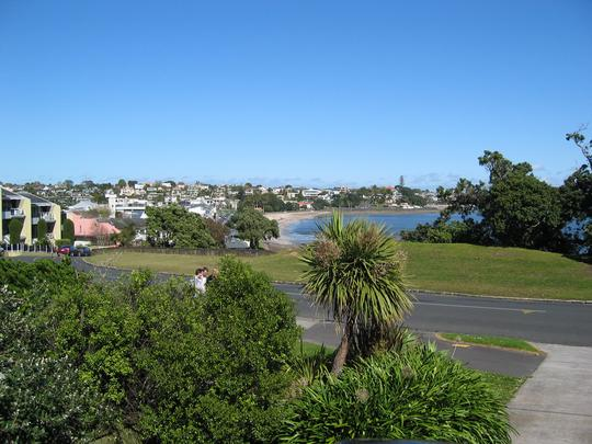 Patio View of St Heliers