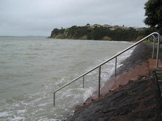 St Heliers, High Tide, Left