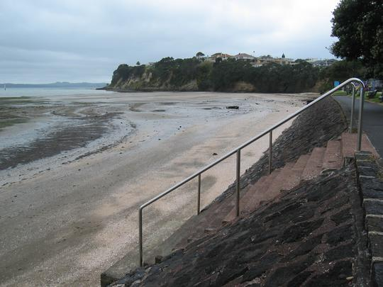 St Heliers, Low Tide, Left
