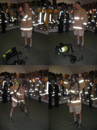 Fighting Fires in Shorts