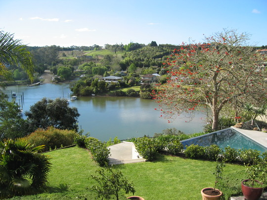 Backyard View, Kerikeri