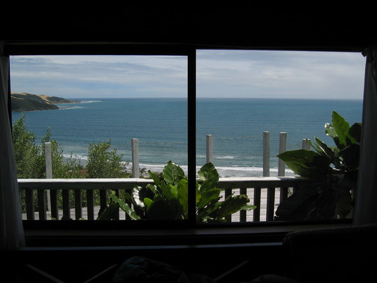 Bedroom View, Ahipara