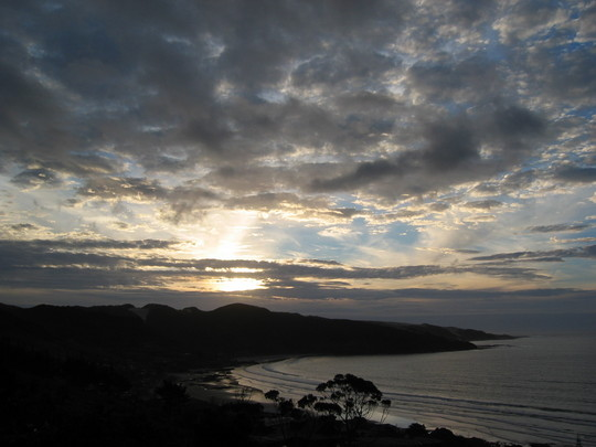 Sunset, Ahipara, New Zealand