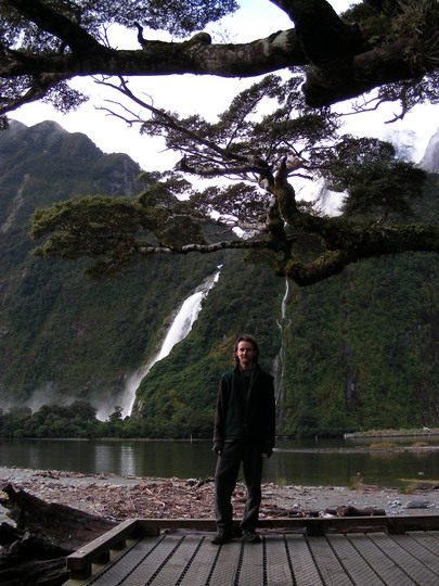Me at Milford Sound