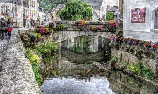 Pont Aven Bridge